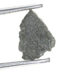 Uncut Natural Rough Loose Diamond 0.85 Ct. Gray Color