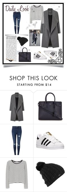"""Untitled #103"" by marshaagitta ❤ liked on Polyvore featuring Miss Selfridge, Yves Saint Laurent, adidas, MANGO, Burton and Trowbridge"