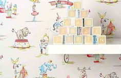 Image result for circus wallpaper cath kidston