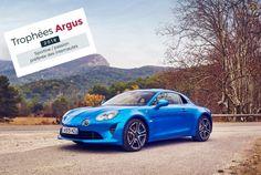 Az Alpine A110 Premiere Edition elnyerte a 'Trophée de l'Argus 2018' díjat