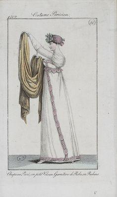 Costume Parisien, 1807