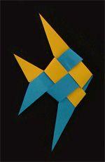 Origami Ribbon Fish