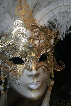 Some wonderful metal detailing on this Venetian mask… via FineArtAmerica.