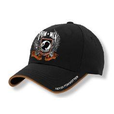 CAP- POW MIA CHROME WINGS-BLACK ada93be551cd