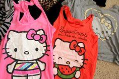 hello kitty shirts