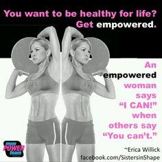 Meet my mentor and friend, Erica Willick from @sistersinshape. She's such an inspiratiin to me  #sisinshape, #fitspiration,