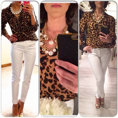 #ootd #jeans #blouse #shoes Top @Urban Planet #top @ Urban Planet Jeans @Old Navy Necklace @Suzy Shier