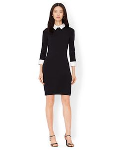 Dresses | Office Parties | Three Quarter Sleeved Dress | Lord and Taylor