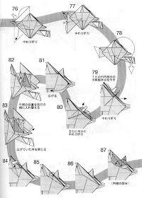 PAPIROFLEXIA PARA TOD@S: TUOJIANGOSAURUS Kirigami, Diy And Crafts, Bird, Quilling, Paper, Dinosaurs, Origami Diagrams, Origami Animals, Art