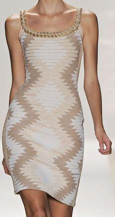 Hervé Léger by Max Azria S/S 2012 New York Fashion Week