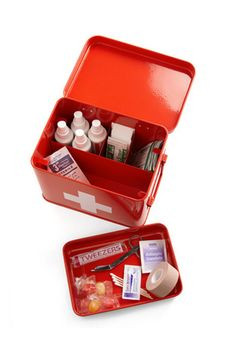 Present Time Head Over Healing First Aid Kit, $29.99, available at ModCloth.