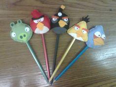 Ponteira  de Lápis - Angry Birds