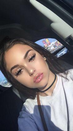 -follow the queen for more poppin' pins /kjvouge/✨❤️- Prom Makeup, Cute Makeup, Pretty Makeup, Wedding Makeup, Makeup Goals, Makeup Inspo, Makeup Inspiration, Girl Inspiration, Flawless Makeup