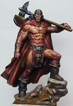 Conan, the Cimmerian Barbarian Viking Power, Viking Warrior, Character Portraits, Character Art, Conan The Destroyer, Caricature, Conan Comics, Conan The Barbarian, Sword And Sorcery