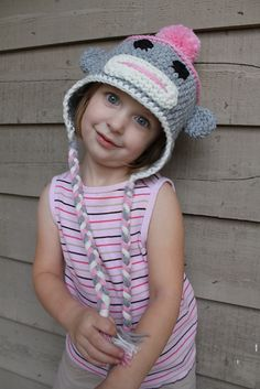 Sock Monkey Hat Pattern