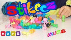 Stikeez Стикезы из космоса, игрушки прилипалы, 100 штук коллекция!