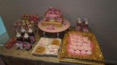 The ballet cake table for our princess Lanique.