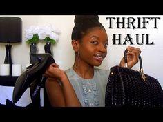 Thrift Haul | Shoes, Tops, Bags  https://www.youtube.com/watch?v=kuJ1GJoD0F8&list=UUR3H80SryNrKqfqRlG-pI9A&index=2