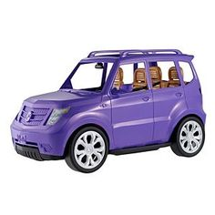 Check out the Barbie SUV Vehicle - Purple (DVX58) at the official Barbie website. Explore the world of Barbie today!