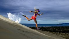 Fernanda Maciel - awesome ultra runner who smiles in nearly every picture I've seen!