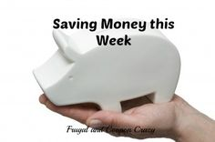 How I saved money this week