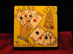 Card Game Box - Hand and Foot - BOX8x85001. $68.00, via Etsy.