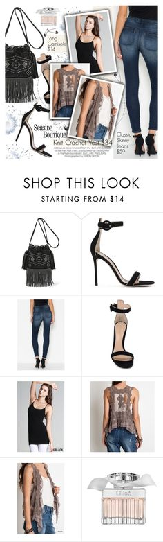 """Going Out"" by seaside-boutique ❤ liked on Polyvore featuring Yves Saint Laurent, Kershaw, Gianvito Rossi, Chloé, women's clothing, women, female, woman, misses and juniors"