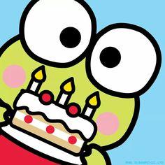 Keroppi happy birthday