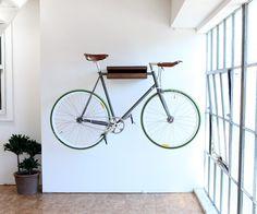 Cómo guardar la bicicleta dentro de casa | Decoratrix | Decoración, diseño e interiorismo