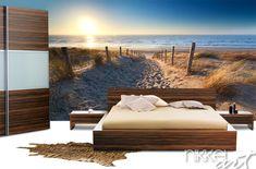 Fotobehang strand  www.nikkel-art.be