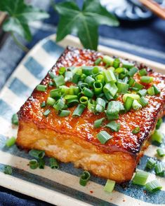 Tofu Recipes, Low Carb Recipes, Cooking Recipes, Cook For Life, A Food, Food And Drink, Dinner Today, Food Cravings, Recipes