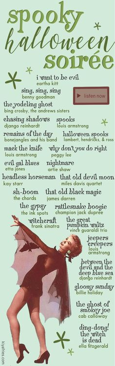 Halloween Playlist, Halloween Songs, Theme Halloween, Halloween Season, Holidays Halloween, Spooky Halloween, Vintage Halloween, Happy Halloween, Halloween Costumes