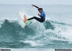 Womens surfing champion Kyla Langen of Carlsbad