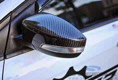 California Pony Cars Focus Carbon Fiber Mirror Covers (12-15 All) photo courtesy of focusrush.com