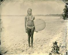 vintage surfer girl - via Miss Moss : Joni Sternbach