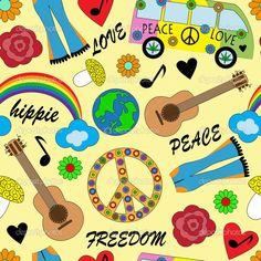 fiesta hippie años 60 - Buscar con Google