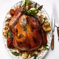 If you haven't popped your turkey in the oven, consider making this version; a sweet-savory glaze enhances flavor and helps the skin crisp beautifully.