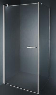 Een gelijkaardige douche zoals de S1, maar met zijpaneel. (S2) / Un douche correspondante au S1, mais avec un paroi fixe. (S2)