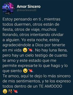 Amor Quotes, Life Quotes, Long Love Quotes, Cute Text Messages, Quotes En Espanol, Tumblr Love, Christian Love, Feelings Words, Relationship Texts