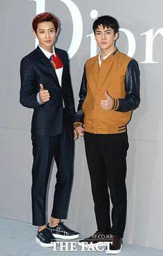 Chanyeol + Sehun