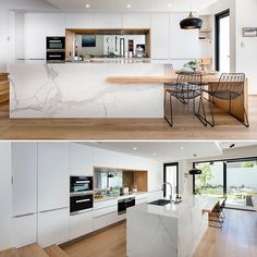 Watch this space; the HIA Kitchen and Bathroom awards are this Saturday and we'r. Watch this space; the HIA Kitchen and Bathroom awards are this Saturday and we're hoping for a win 👊🏼 Kitchen Island For Dining, Loft Kitchen, Kitchen Room Design, Apartment Kitchen, Modern Kitchen Design, Home Decor Kitchen, Interior Design Kitchen, Home Kitchens, Smart Kitchen