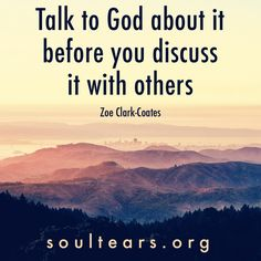 So many inappropriate, slanderous, gossiping, and malicious conversations would be avoided if everyone actually did this.