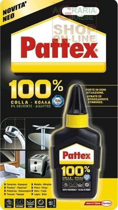 PATTEX COLLA ADESIVO UNIVERSALE GR. 50 http://www.decariashop.it/home/12847-pattex-colla-adesivo-universale-gr-50.html