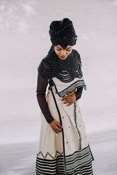 Xhosa dresses 2019 for your important event 3 African Traditional Wedding Dress, African Fashion Traditional, Traditional Outfits, Traditional Weddings, Xhosa Attire, African Attire, African Wear, African Print Dresses, African Fashion Dresses