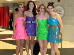 Simple duct tape dresses images
