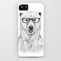 NEED!!! Geek bear iPhone Case by Balázs Solti - $35.00
