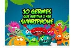 10 germes que habitam o seu smartphone - reunidos num infografico - Blue Bus