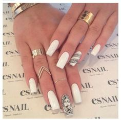 Kendall Jenner Nails | Featured on Kendall & Kylie's Tumblr