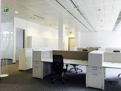 Arbeitsplätze by kühnle'waiko #office #furniture #workspace #interior #design #acoustic