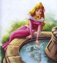 aurora from the film sleeping beauty 7572625 Arte Disney, Disney Fan Art, Disney Style, Disney Magic, Sleeping Beauty Art, Sleeping Beauty Maleficent, Disney Princess Aurora, Disney Princesses And Princes, Princess Bubblegum